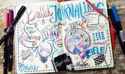 Journaling,Doodeling und Sketchnotes