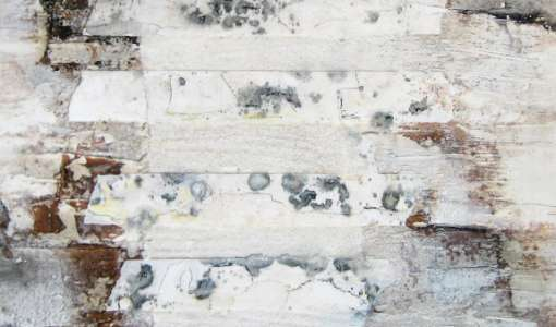 Die Farbe Weiß - Wachs auf Holz