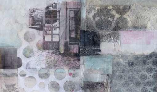 Collage: Material -Textur-Relief