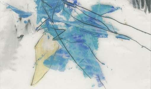 Zeichnung/Malerei auf Papier und Transparentpapier