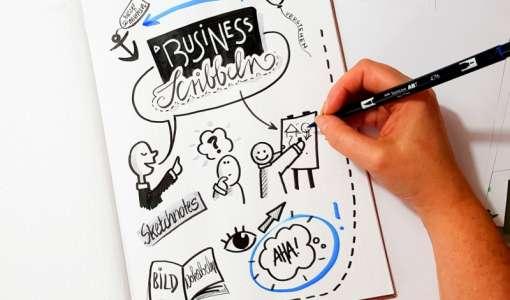 Business-Scribblen