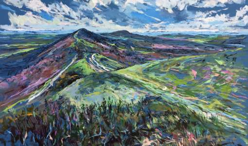 ACRYLICS - Landscapes & Expressive Skies with Colour