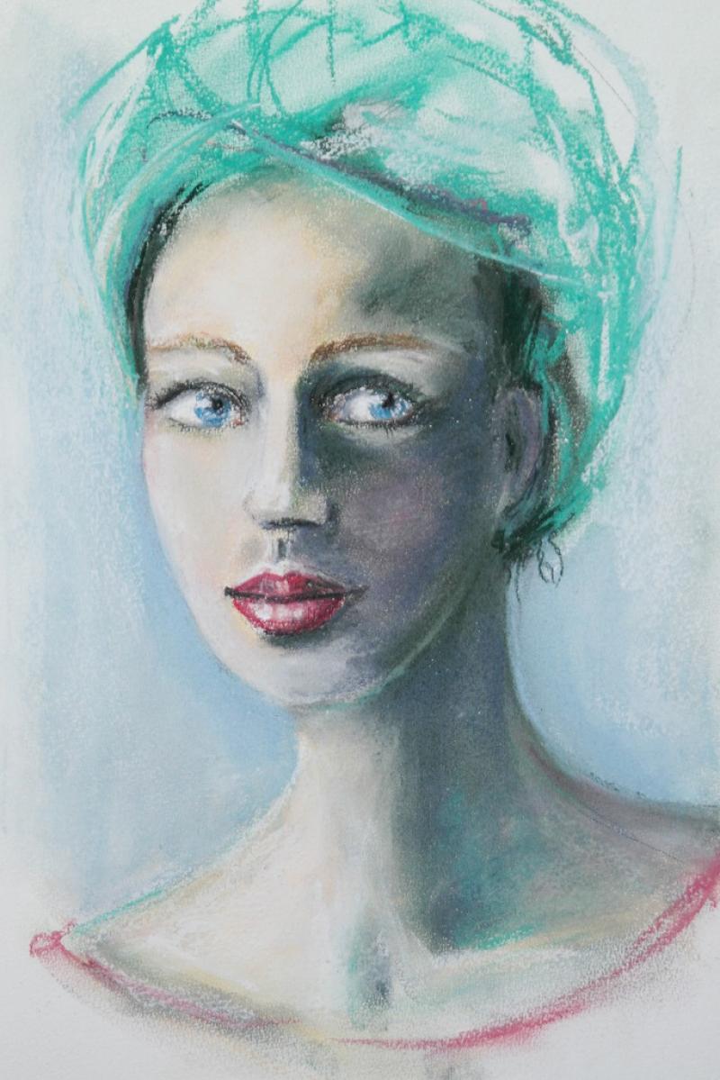 Portrait in Pastell