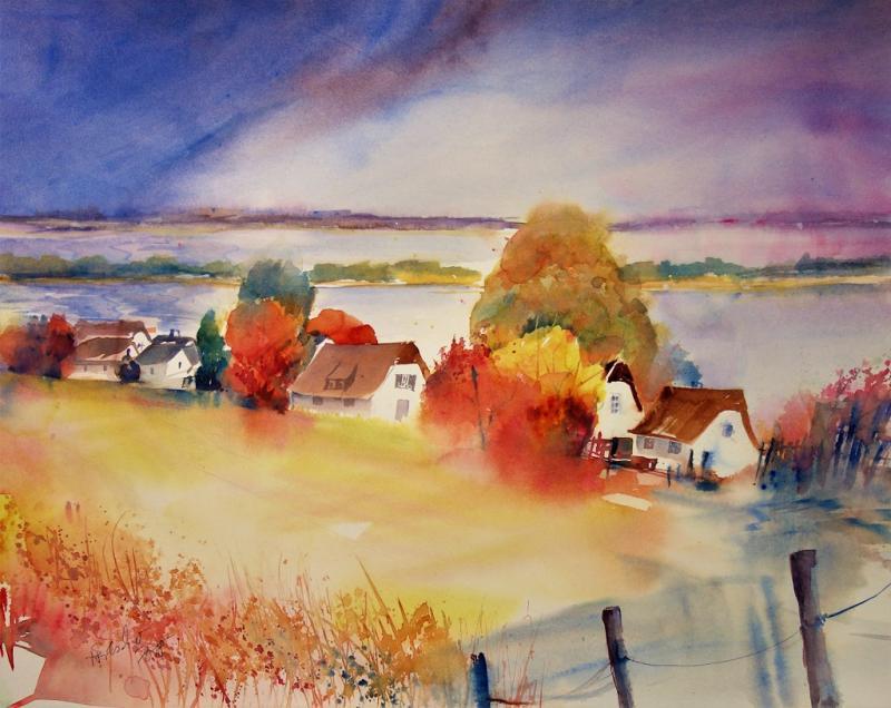 Aquarell leicht und locker - Herbstmotive