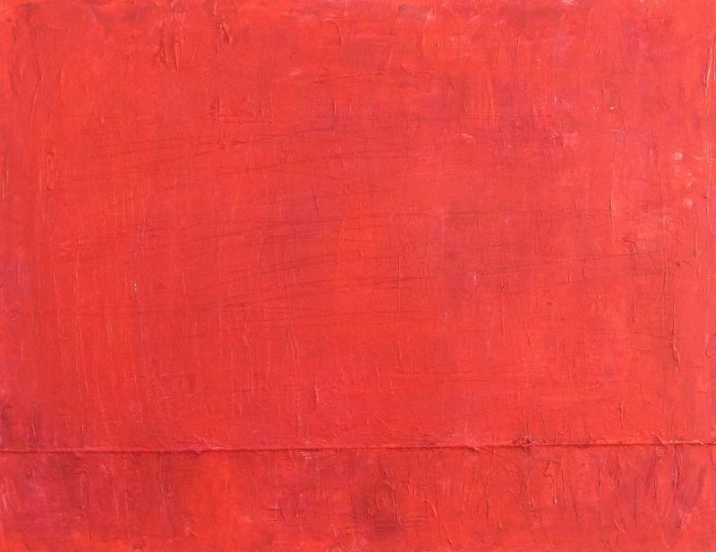 Monochromes Rot – sehen, spüren, malen