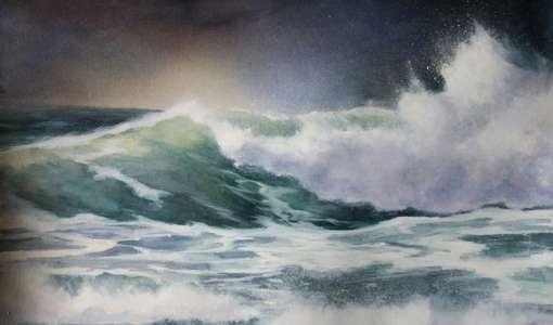 Meer, Wellen und Weite