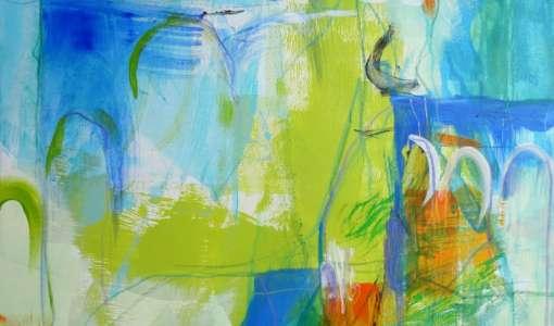 Die Linie in der Acrylmalerei