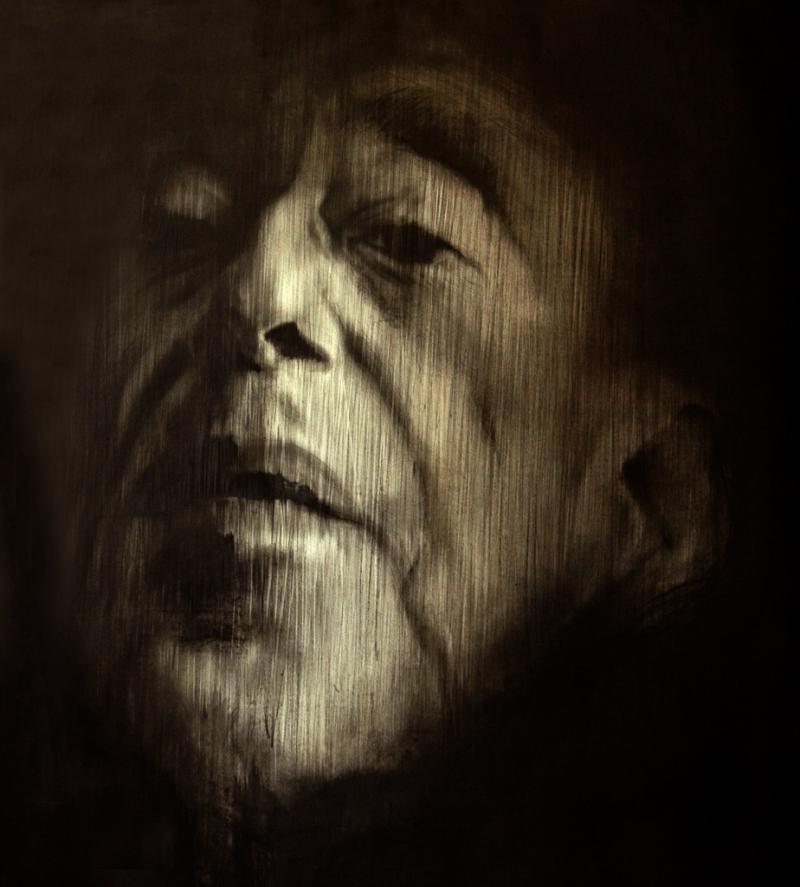 Porträt zeichnen mit spezieller Graphittechnik