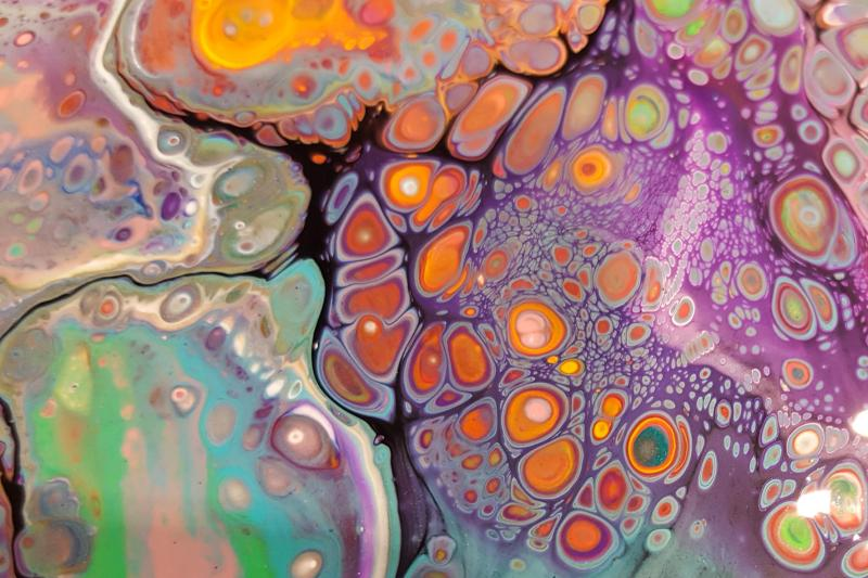 Fluid Art - Acrylic Pouring
