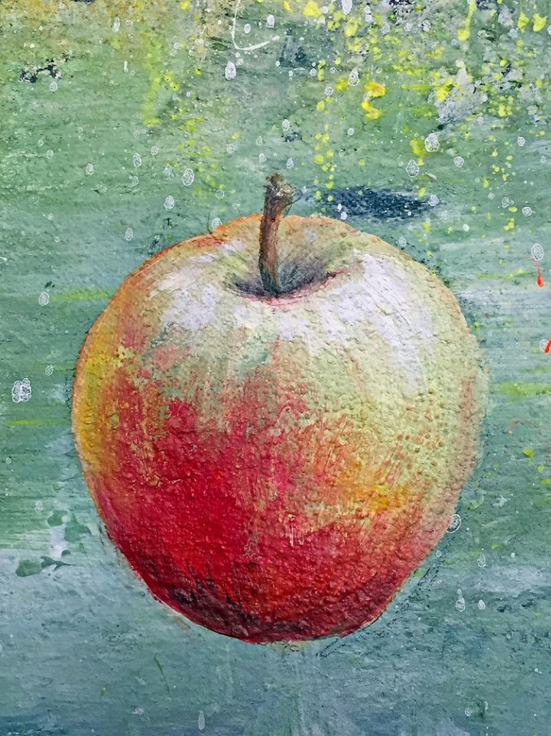 Ölmalerei ganz leicht: Am Anfang war ... der Apfel