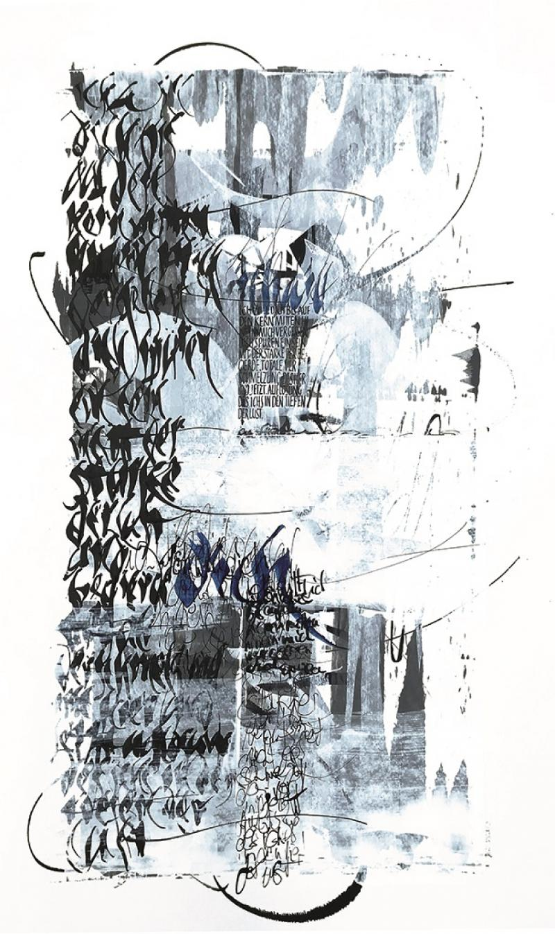Kalligrafie – oder die Stille Kunst eine Feder zu führen II