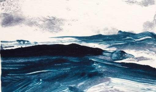 Der innere Duktus: Blind zeichnen/gestisch malen