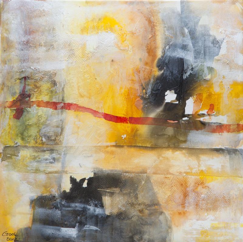 Einsteigerkurs abstrakte acrylmalerei farbe hilfsmittel - Acrylmalerei ideen ...